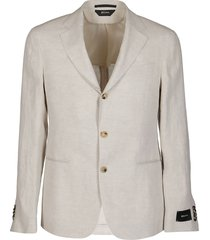 light beige linen blazer
