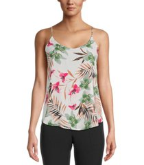 bar iii printed cami top, created for macy's