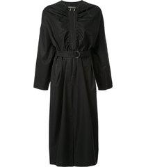 boyarovskaya mid-length shift dress - black