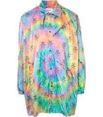 doublet oversized tie-dye shirt - multicolour