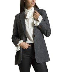 chaqueta aina gris rockford
