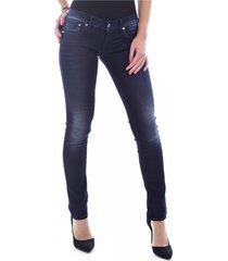getailleerde jeans met stretch