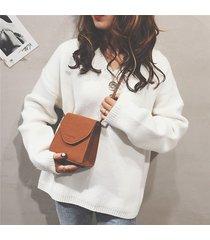 tracolla in pelle ecologica vintage chic donna borsa borsa
