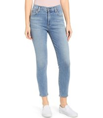 women's citizens of humanity rocket high waist crop skinny jeans