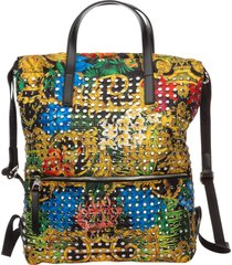 zaino borsa donna tropical baroque