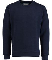 basefield sweatshirt 219015128/607 blauw