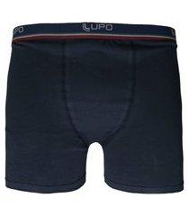 cueca lupo boxer elastano azul-marinho