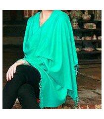 wool and silk shawl, 'fresh adornment' (india)