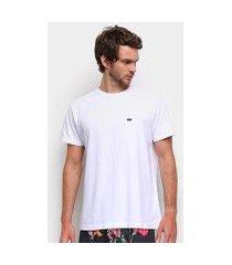 camiseta osklen masculino stone heliconia masculina
