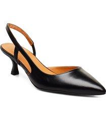pumps 4572 shoes heels pumps sling backs svart billi bi
