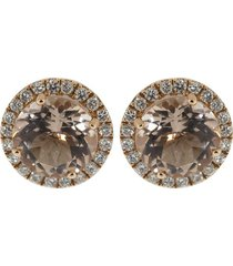 anna beth morganite stud earrings
