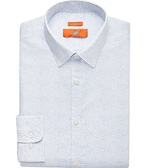 egara orange blue dot extreme slim fit dress shirt