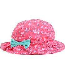 chapéu infantil pimpolho florezinhas