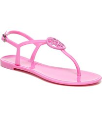circus by sam edelman women's mae medallion jelly thong sandals women's shoes