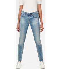 3301 mid waist skinny jeans