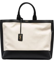 cabas two-tone tote bag