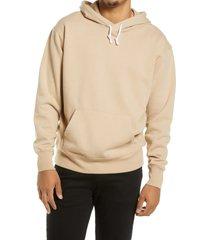men's bp. fleece hoodie, size xxx-large - brown