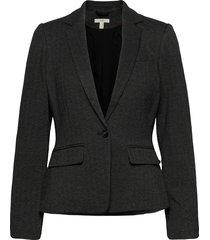 blazers woven blazers business blazers grijs esprit casual