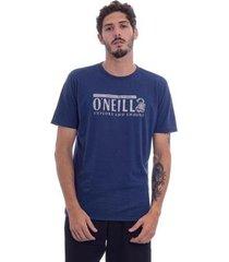 camiseta o'neill especial explore and endure azul masculino - masculino