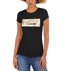 guess foil logo t-shirt