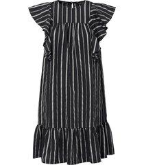 abito con balza (nero) - bodyflirt