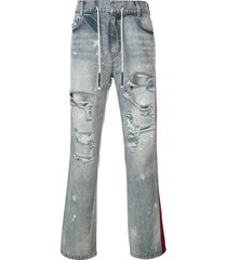 mostly heard rarely seen dante hybrid jeans - blue