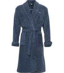organic premium robe ochtendjas badjas blauw gant