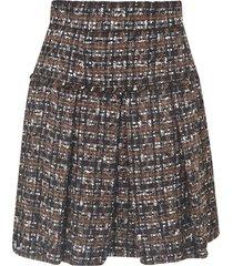 dolce & gabbana knit pleated skirt