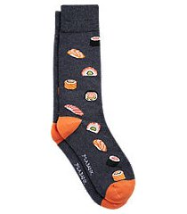 jos. a. bank sushi mid-calf socks, one-pair