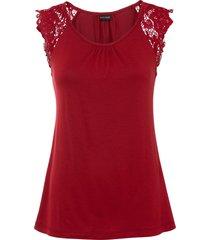 top con lenzing™ ecovero™ (rosso) - bodyflirt