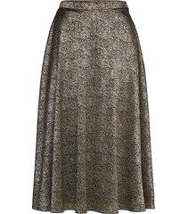 lena skirt glitter lång kjol multi/mönstrad ida sjöstedt