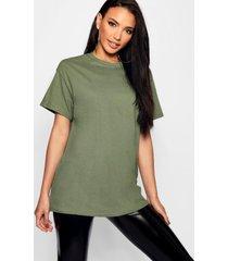 basic oversized boyfriend t-shirt, khaki