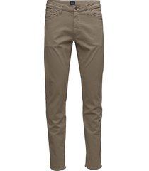 d1. slim desert jeans slim jeans bruin gant
