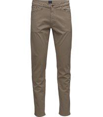 slim desert jeans slim jeans bruin gant