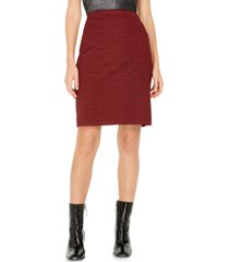 nine west jacquard skirt