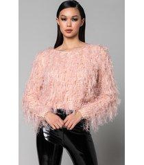 akira betty lightweight sweater