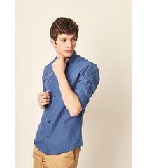 camisa azul prototype edge
