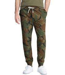 pantalon camo fleece verde polo ralph lauren