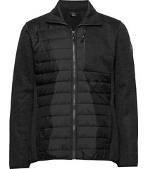 luoto m layer jacket sweat-shirt trui zwart halti