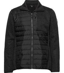 luoto m layer jacket sweat-shirt trui zwart halti