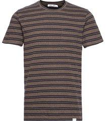 carpo t-shirt st 7888 t-shirts short-sleeved brun samsøe samsøe