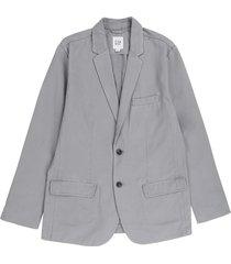 blazer gris gap