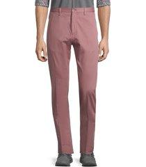 zanella men's noah cotton-blend pants - white - size 40
