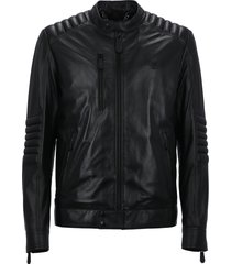 philipp plein smooth leather jacket