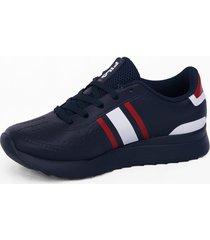 zapatilla azul fila retro sport 2.0 916604