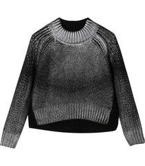 diesel black crewneck sweater