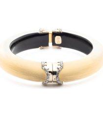 alexis bittar alex bittar lucite(r) pave edge hinge bracelet in gold at nordstrom