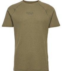 halo waffle tee t-shirts short-sleeved grön halo