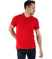 bench mens classic cotton polo shirt size 2xl in red