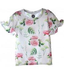 t-shirt grass and rose